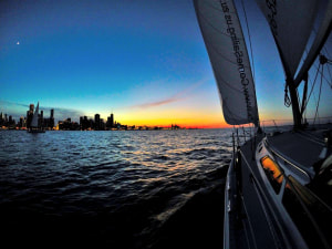 Sunset Sail in Chicago